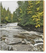 Sturgeon River Wood Print