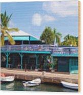 Stxx  Christiansted Us Virgin Islands Wood Print