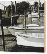 Styron Bay Harbor 2 Wood Print