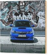 Subaru Wood Print