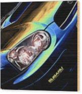 Subaru Impreza  Wood Print