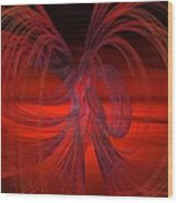 Subatomic Wood Print