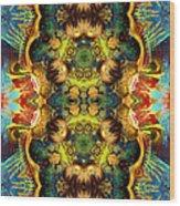 Subconscious Sacred Scrolls Wood Print