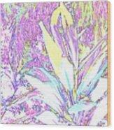 Subtle Leaf Wood Print