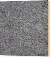 Subtle Lichen On Granite Texture Wood Print