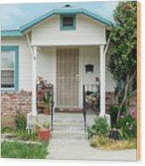Suburban House Hayward California 20 Wood Print