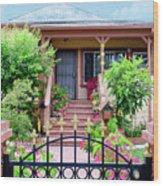 Suburban House Hayward California 38 Wood Print