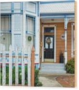 Suburban House Hayward California 9 Wood Print