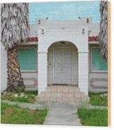 Suburban Surveillance House On Montgomery Avenue Hayward California 6 Wood Print