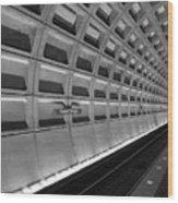 Subway Station Wood Print