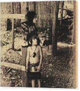 Sucua Kids 895 Wood Print