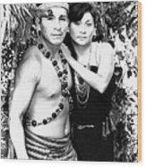 Sucua Shaman And Spouse Wood Print