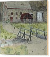 Sudbury Gristmill Wood Print