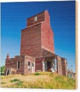 Suffolk Red Wood Print