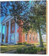 Suffolk Visitor Center  Wood Print