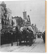 Suffrage Parade, 1913 Wood Print