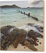Sugar Bay St. Thomas Wood Print