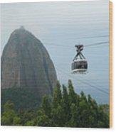 Sugar Loaf Mtn Brazil Wood Print