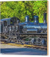 Sugar Pine Railway Train Wood Print