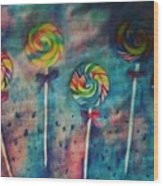 Sugar Rush  Wood Print