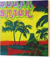 Sugar Shack Wood Print