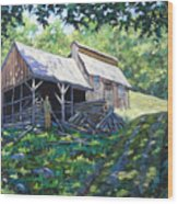 Sugar Shack In July Wood Print