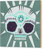 Sugar Skull IIi Wood Print