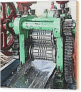 Sugarcane Juice Wood Print