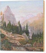 Sugarloaf Peak Eldorado California Wood Print