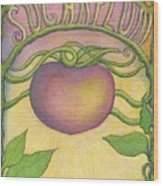 Sugarplum #4 Wood Print