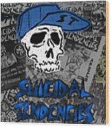Suicidal Tendencies Wood Print