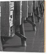 Suicide Bridge  Wood Print