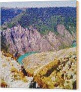 Sulak Canyon Wood Print
