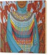 Sulawesi Girl Wood Print