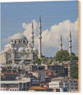 Suleymaniye Camii Wood Print