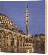 Suleymaniye Mosque Wood Print