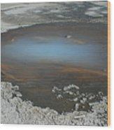 Sulfur Pool Wood Print