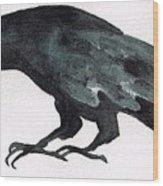 Sulky Bird Wood Print