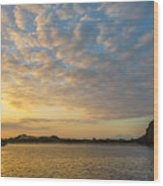 Sullivan Bay Sunrise Wood Print