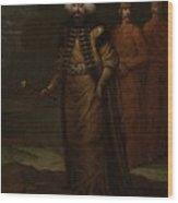 Sultan Ahmed IIi, Jean Baptiste Vanmour, C. 1727 - C. 1730 Wood Print