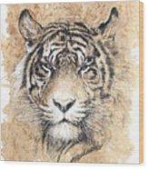Sumatra Wood Print by Debra Jones
