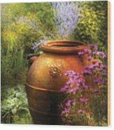 Summer - Landscape - The Urn Wood Print