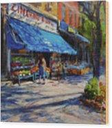 Summer Afternoon, Columbus Avenue Wood Print