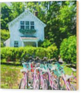 Summer Afternoon In The Hamptons Wood Print