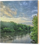 Summer Along The West Fork Wood Print