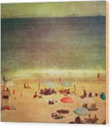 Summer At The Cape Iv Wood Print