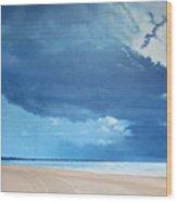 Summer Blues Wood Print