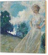 Summer Breeze 1915 Wood Print