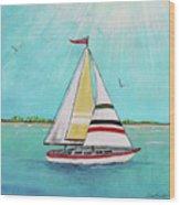 Summer Breeze-d Wood Print