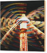 Summer Carnival Fantasia Wood Print